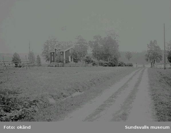 Ester Näslunds barndomshem i Öppom, Ljustorp.