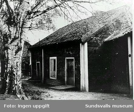 Uthuset, norra fasaden