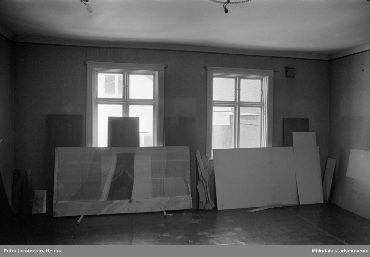 Kvarnfallet 24 vid Götaforsliden i Mölndals Kvarnby. Mangårdsbyggnad till kvarn (bostad).