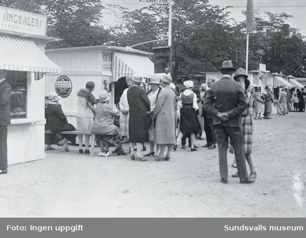 Sundsvallsutställningen 1928 (troligen).