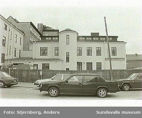 Kvarters vy över Stenstaden 1:8, Sundsvalls Energi.