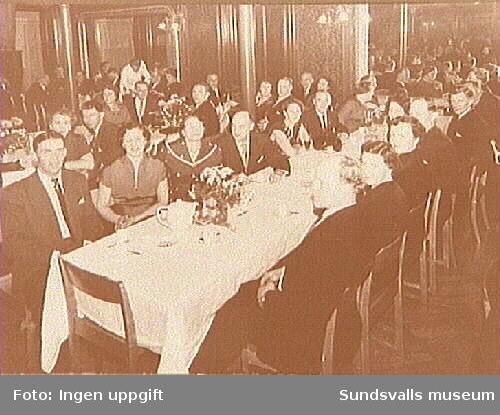 Sågverks- och Industriarbetareförbundets 50-årsjubileum.