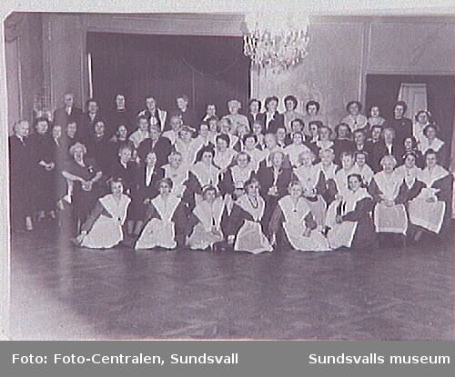 Repro ur fotoalbum, tillhörande Sundsvalls Martha-förening-Hem och samhälle, inlånt genom Britta Stattin. Repro ur acc. 474.