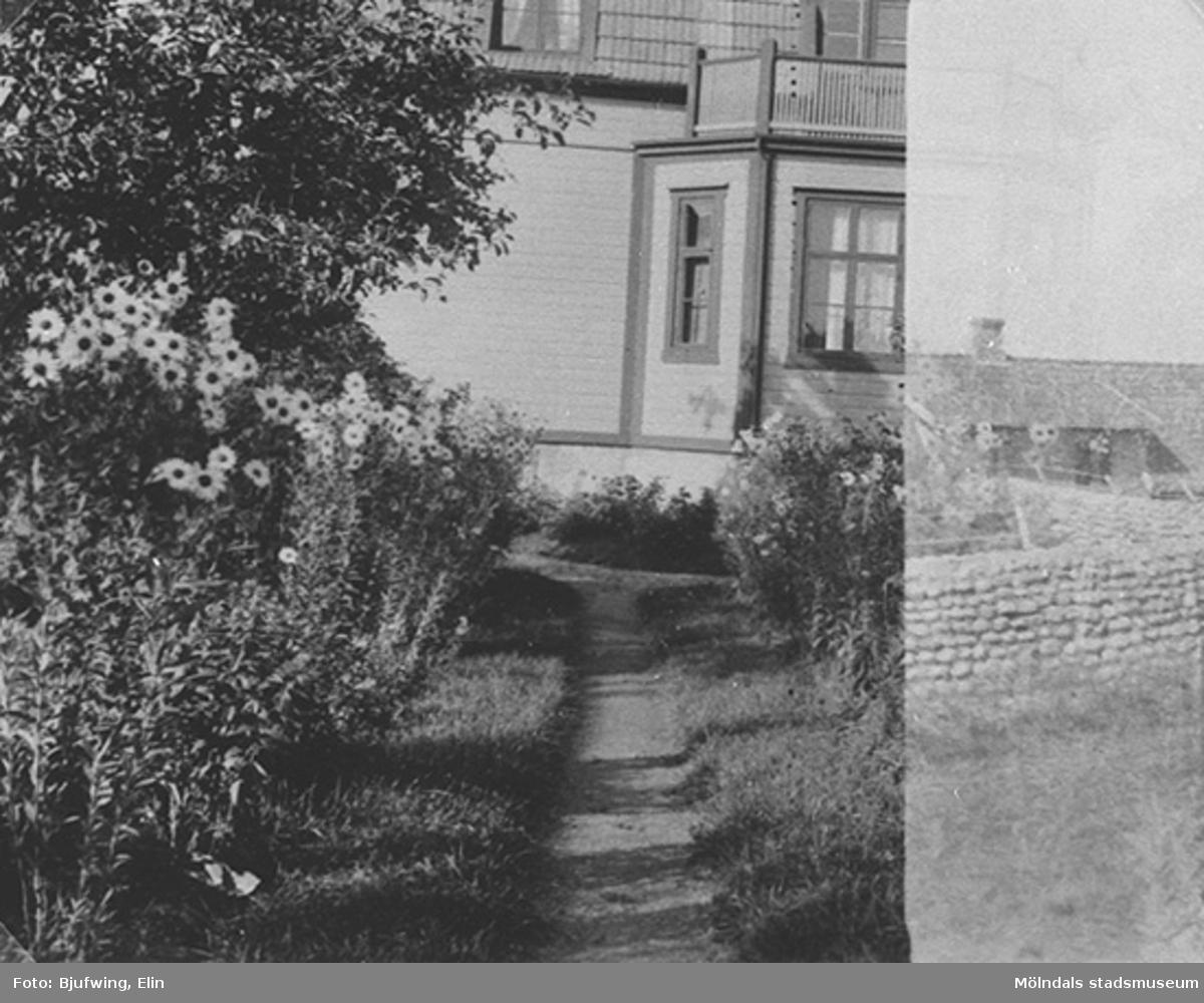Barnhemsgatan 13, 1934. Fotografen Elin var lillasyster till Oskar Andersson, Brittas morfar.