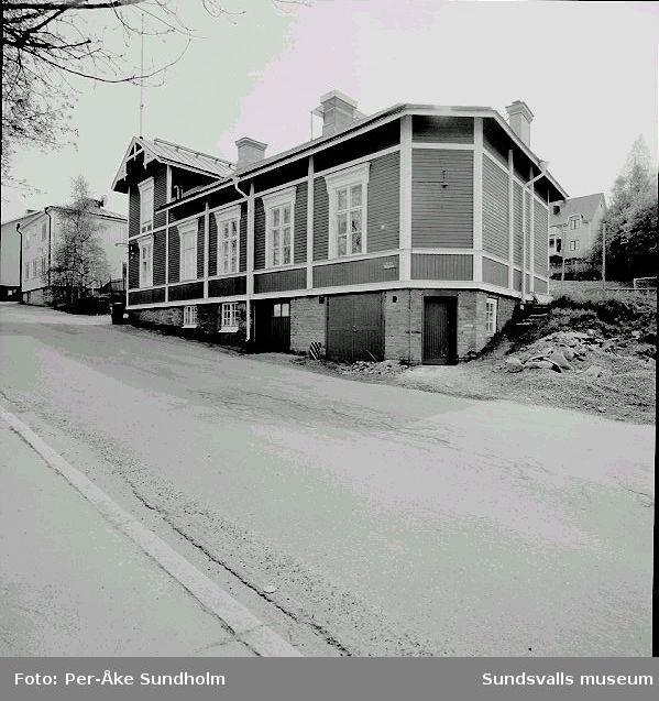 Byggnad med  verkstads- och affärsverksamhet, kv. Eken 1, Nygatan 29.