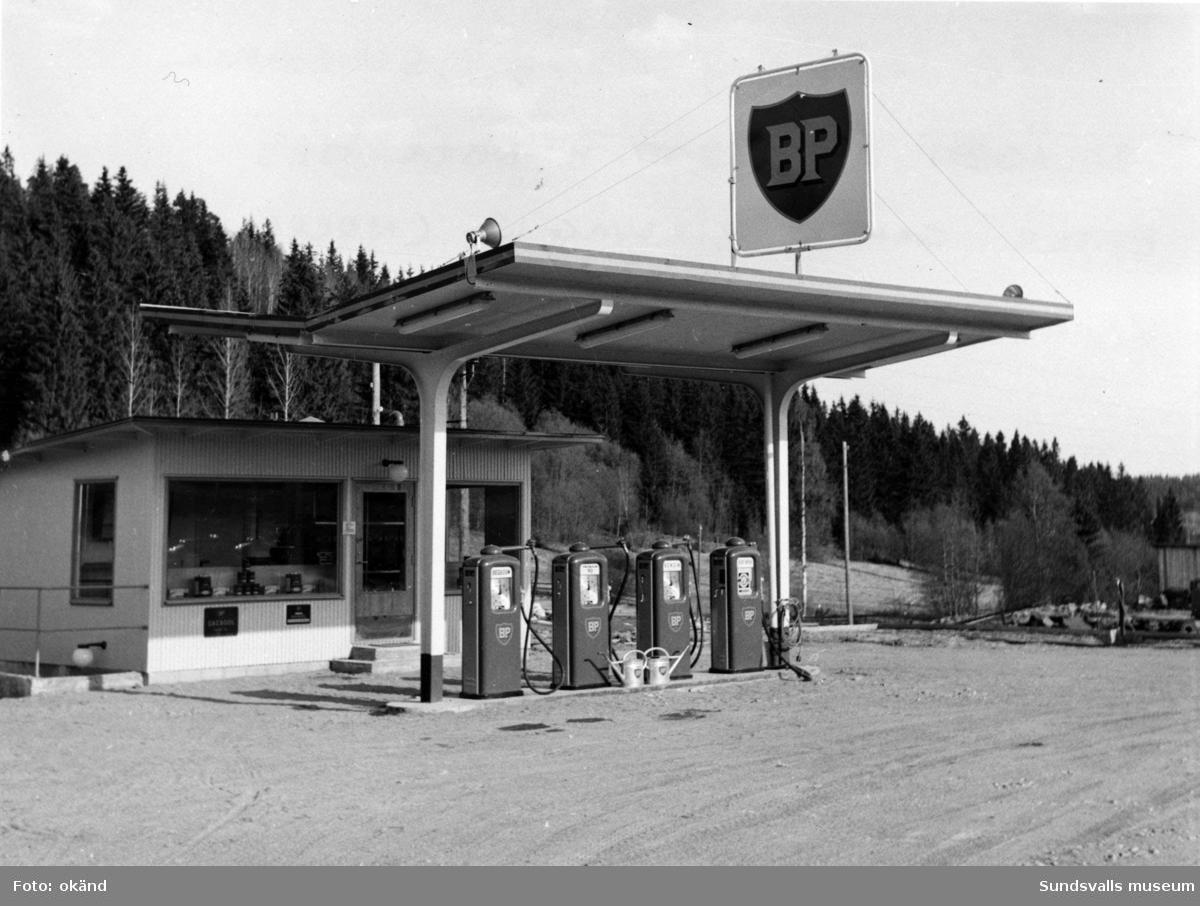BP-stationen Skönsberg, Norra Sundsvall.