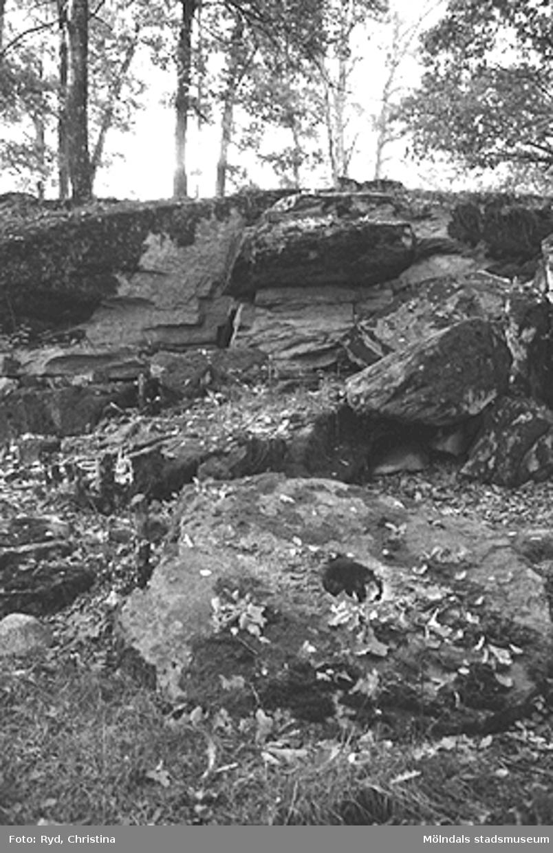 Ett stenbrott, troligtvis i Kållered.