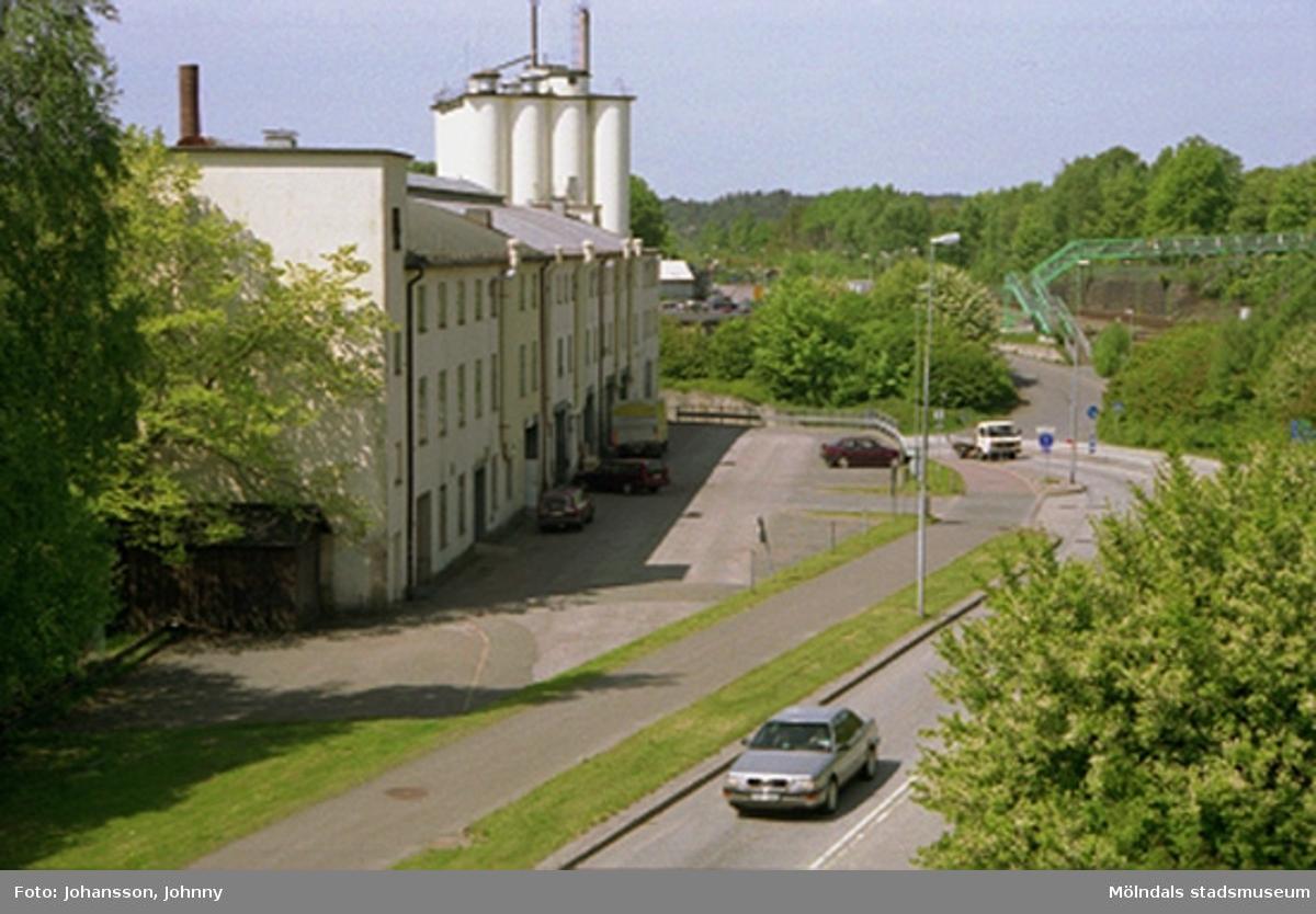 """Den f.d strumpfabriken """"Strumpan"""" kallad och området omkring."""