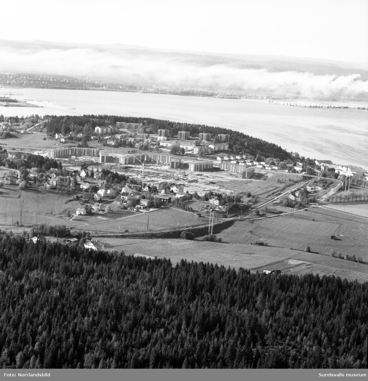 Flygfoton över Finsta och Sund.