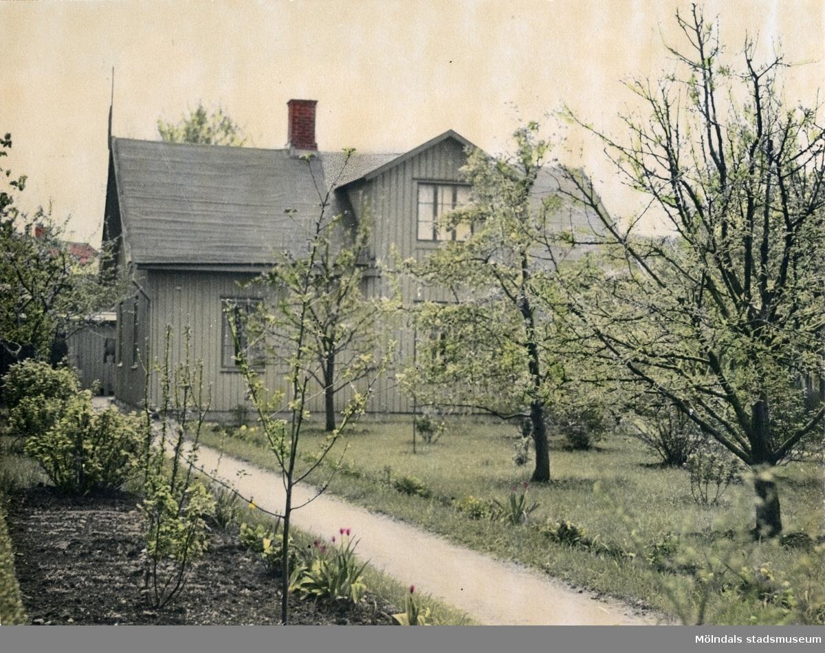 Solhemsgatan 10 på 1940-talet.