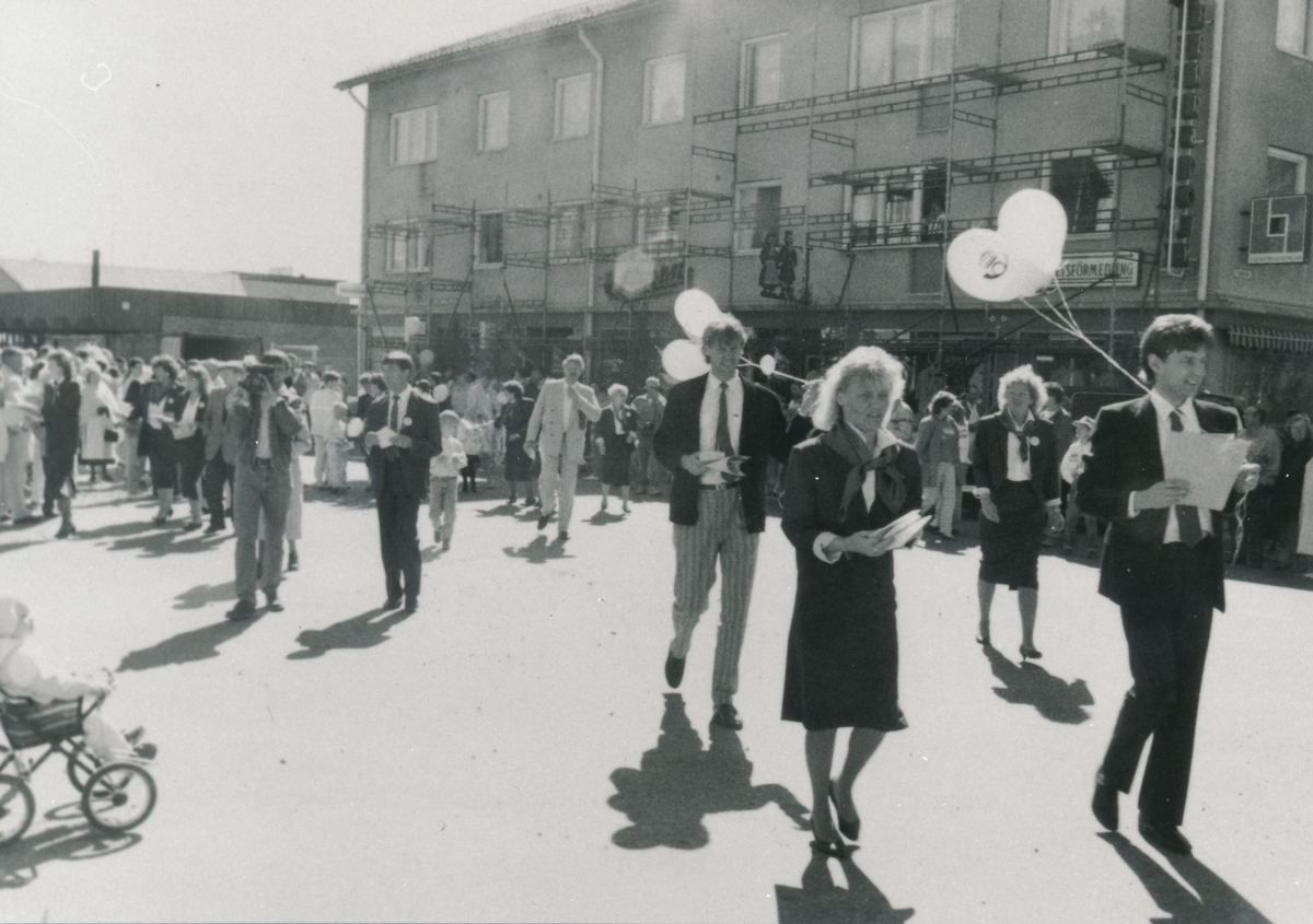 Invigning av Postkontoret Kalix 1, 1989.