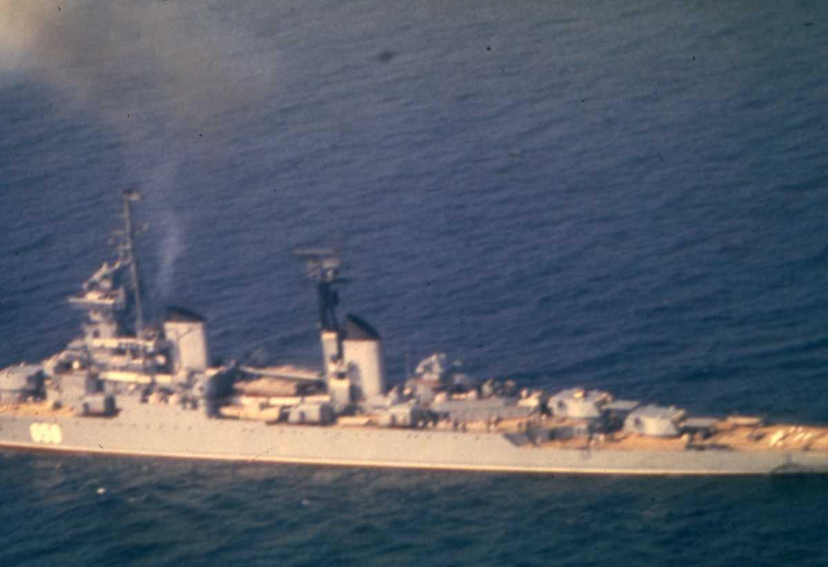 Russisk fartøy av Sverdlov - klassen med nr. 050.