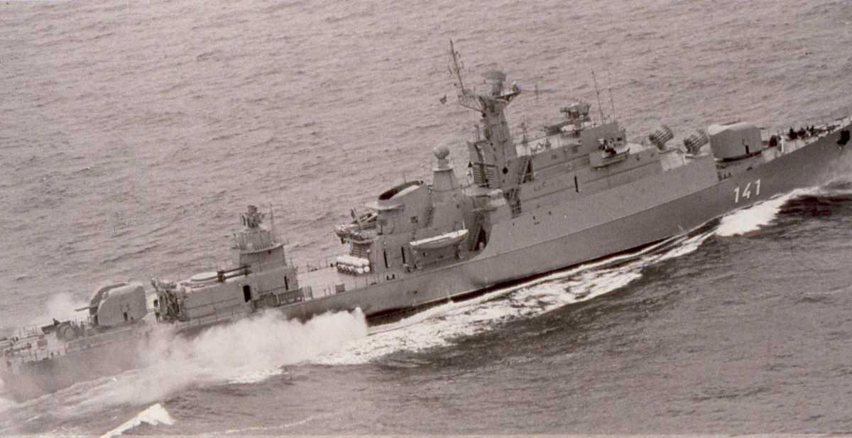 Russisk fartøy av Koni - klassen med nr. 141.