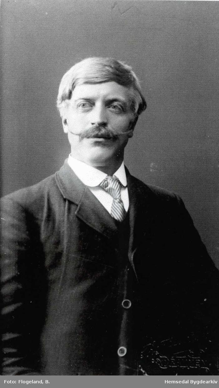 Einar A. Thorset, fødd 1882. Bonde i Rudningen