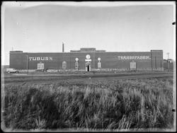 Eksteriør fra Tubus A/S, Grålum i Sarpsborg, 1932-33. Produs