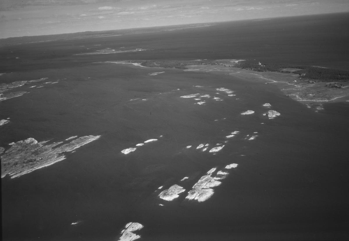 Flyfoto fra Jomfruland. Kragerø