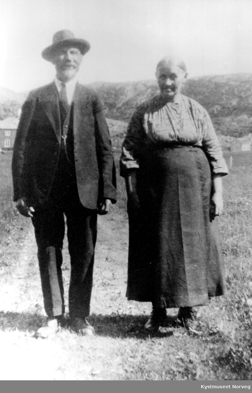 Andrea og Peder Pettersen Valø