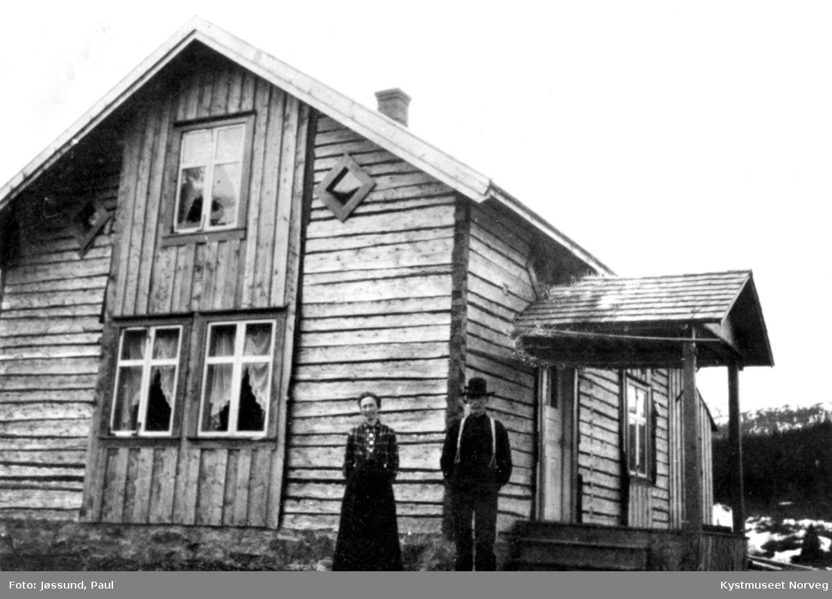 Mary Bye Moe og Karl Moe på Ivermoen