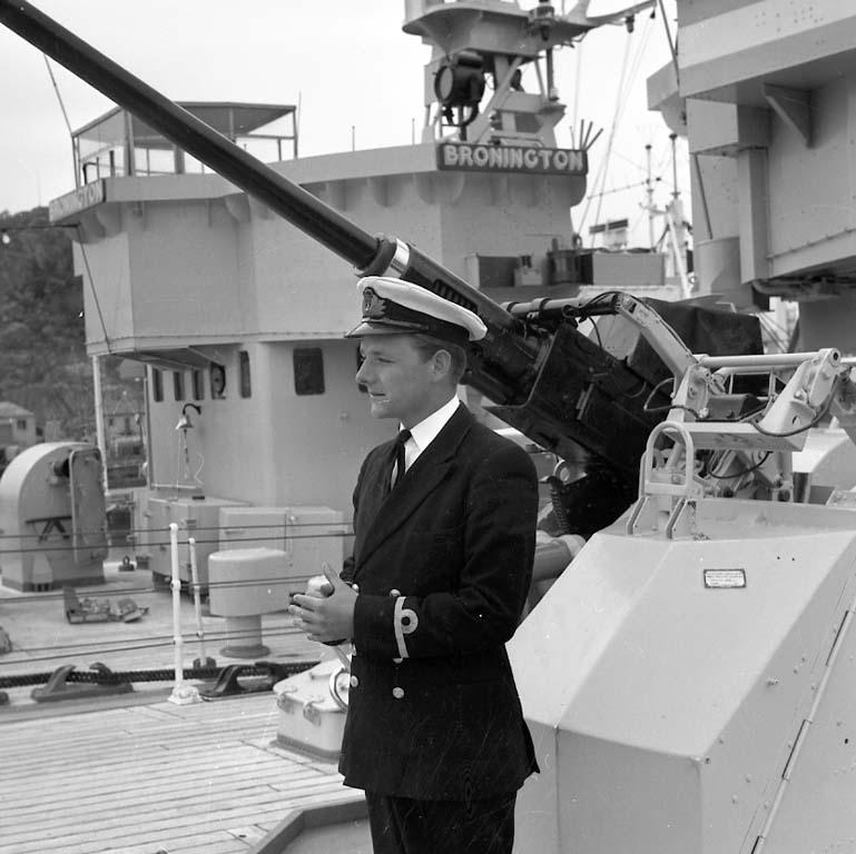 Engelska flottan har siktats i Uddevalla