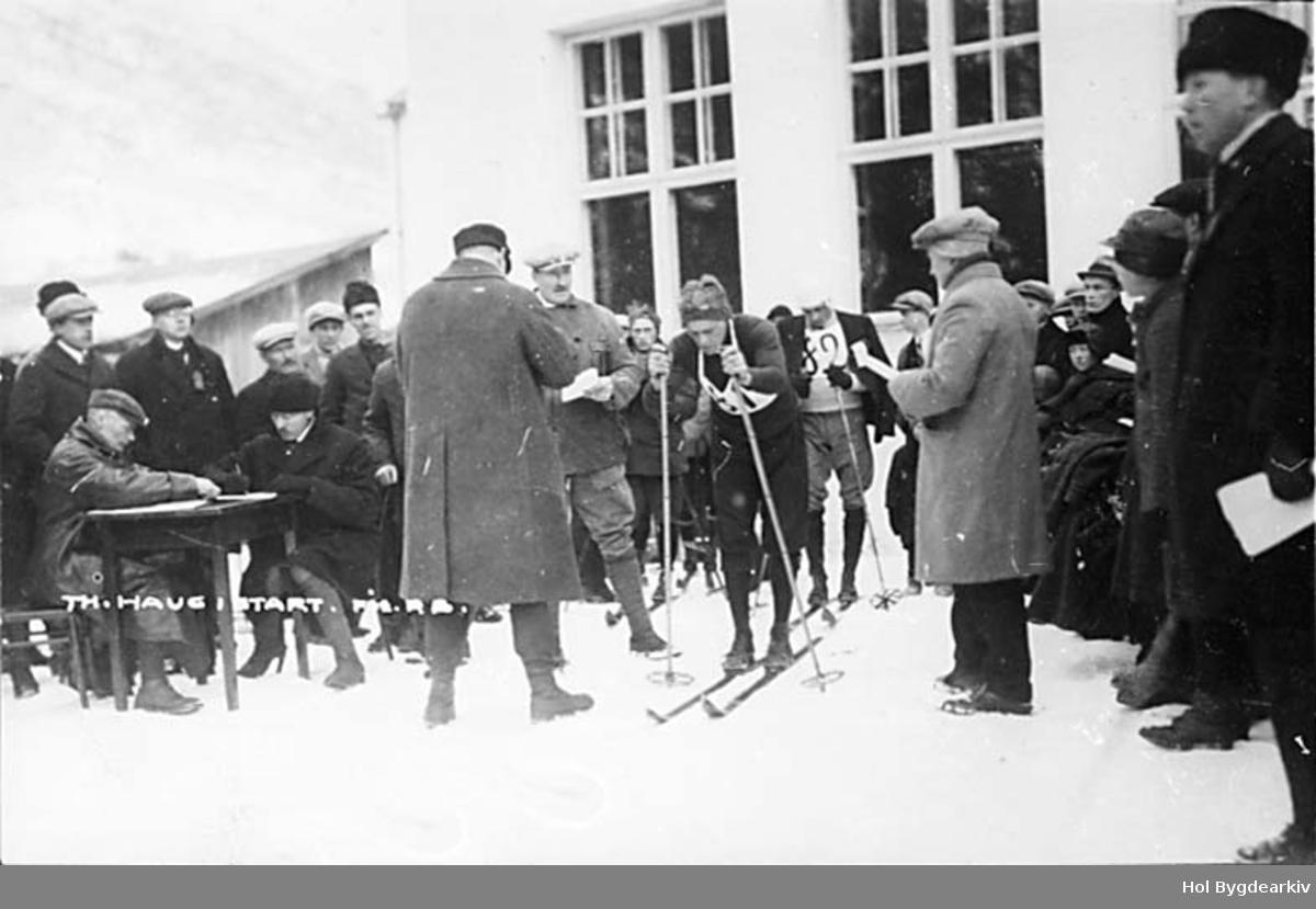 Skirenn, langrenn, Thorleif Haug, skiløypar, skiidrett,
