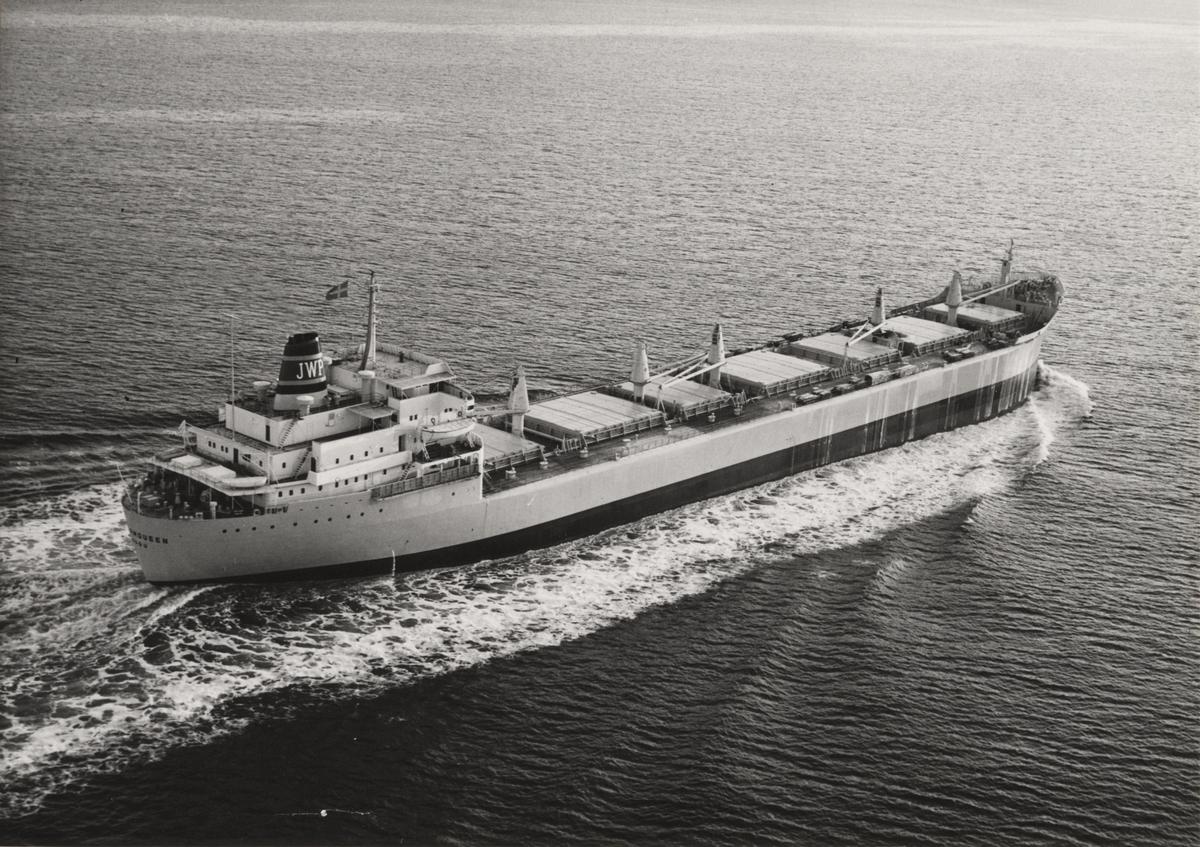 Bulkfartyget Stormqueen om 38.600 tons d.w. Fartyget är det elfte i en serie på 13 systerfartyg, som byggs för rederier i Sverige, Norge och Finland.