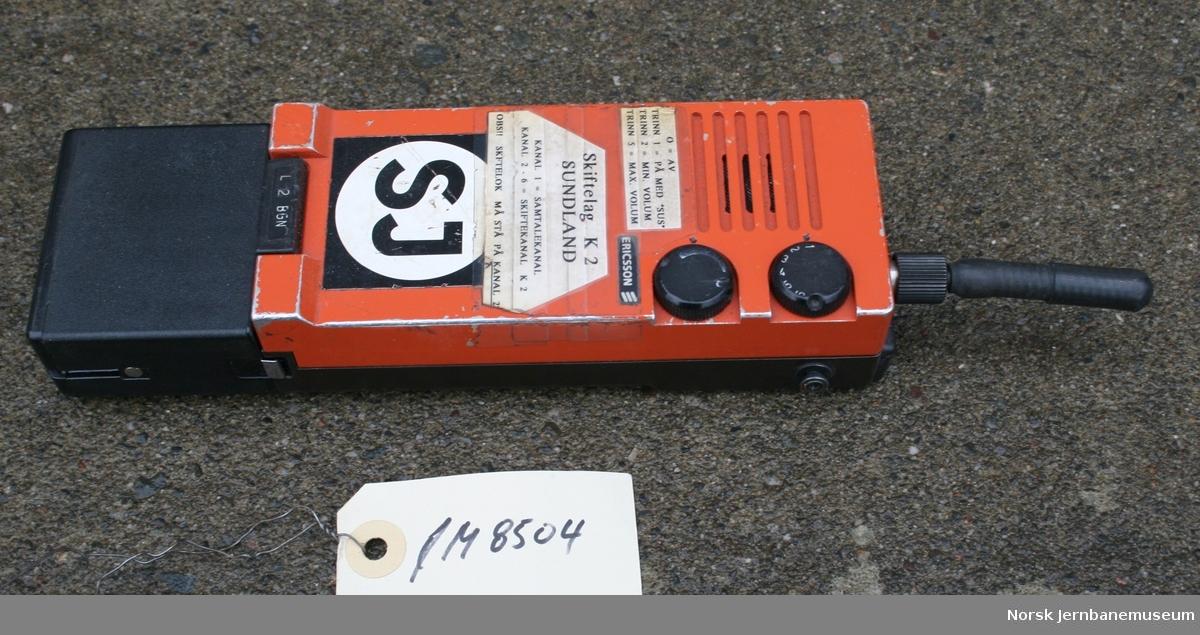 Skifteradio Fabrikat: LM Ericsson Type L 2 BGN
