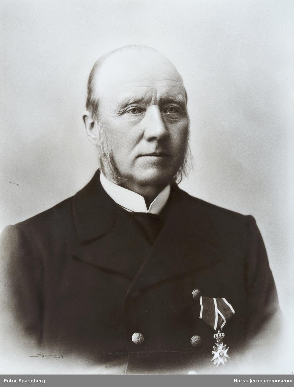 Portrett av kontorsjef Christen Mathiesen