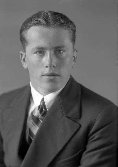 """Text till bilden: """"Gustav Andersson""""."""