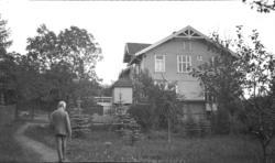 Edvard Munch på Ekely.