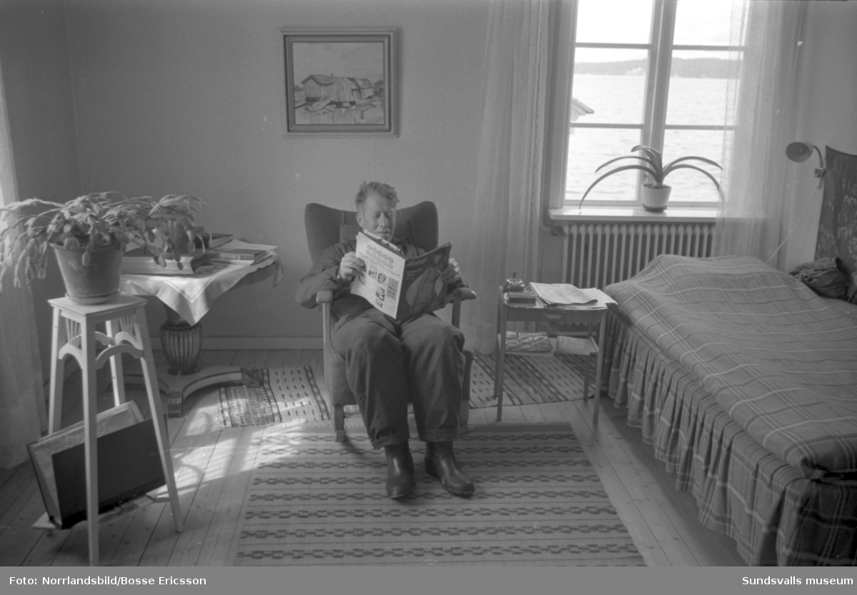 Reportage från Draghällans fyr, fotograferat för Expressen.