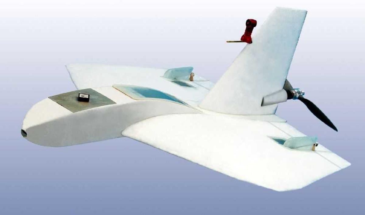 Illustrasjon av fly, Drone.