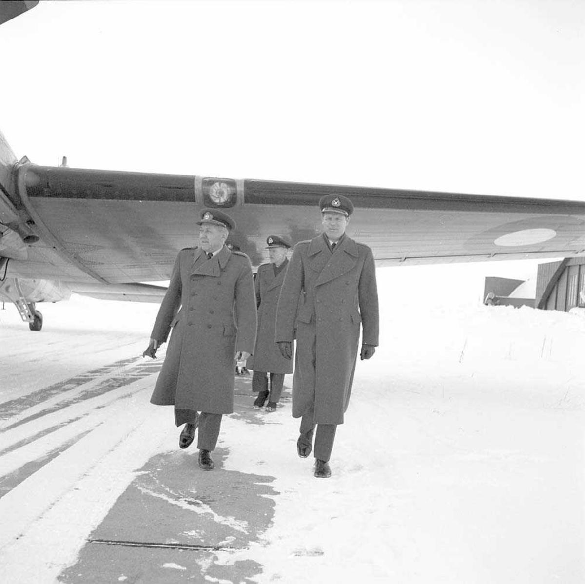 General Tage Andersens besøk på Bodø flystasjon.