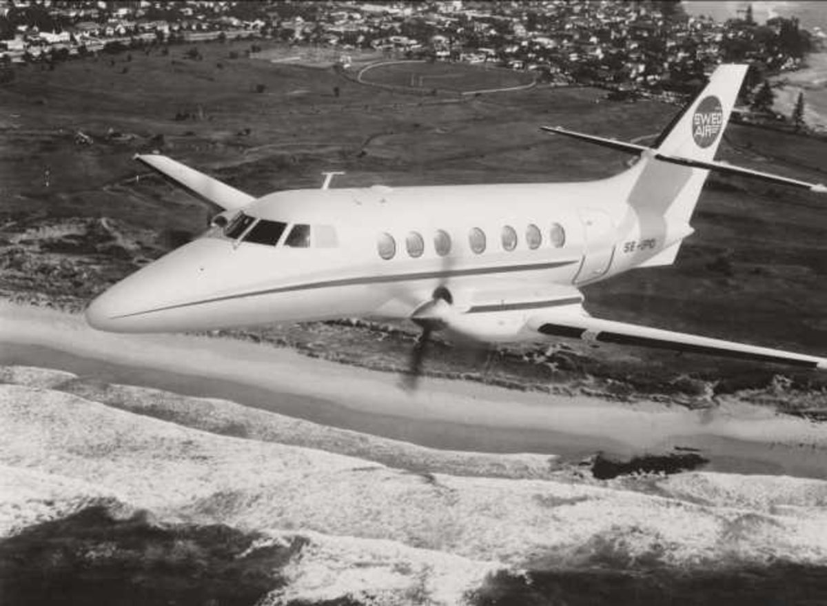 Ett fly i luften. Jetstream 31. SE-IPO