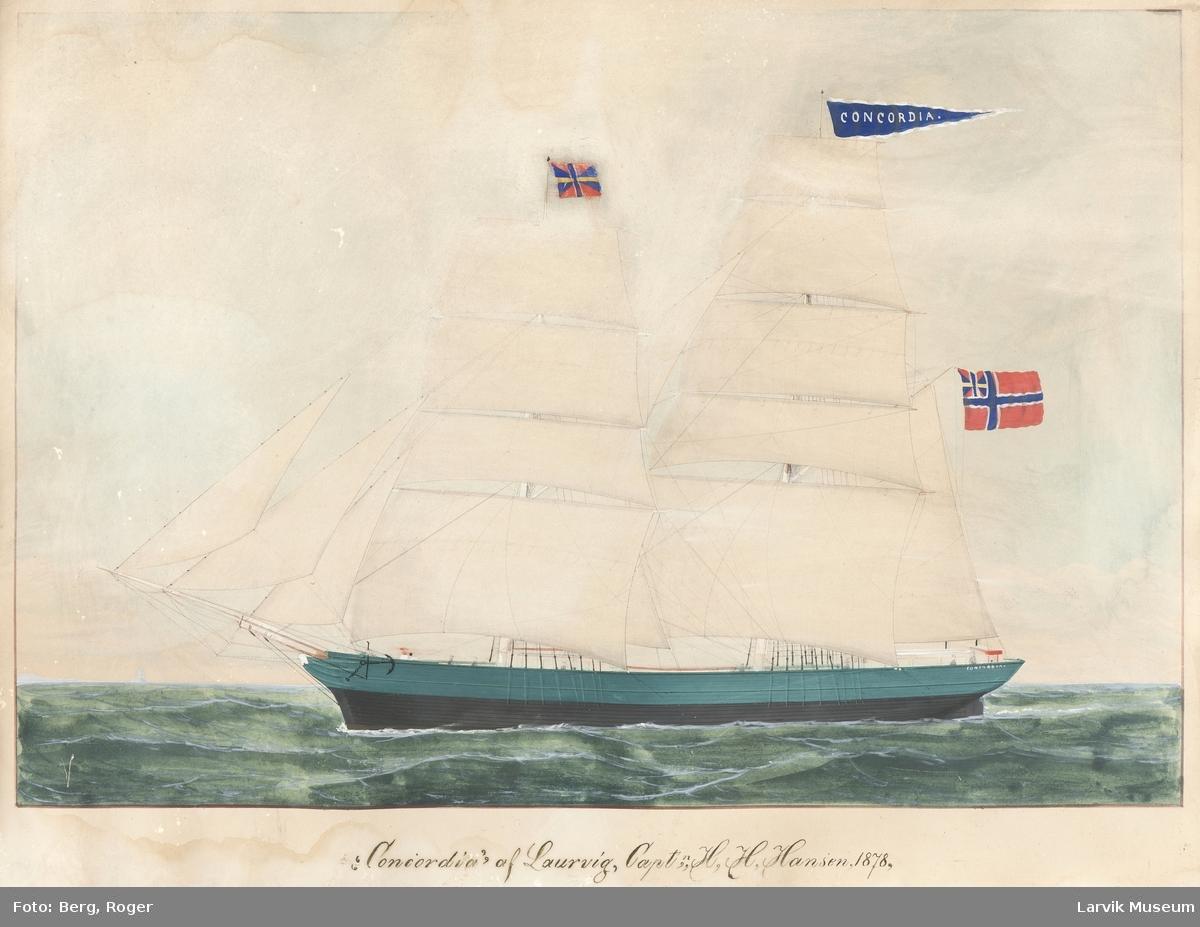 Concordia av Larvik, brigg