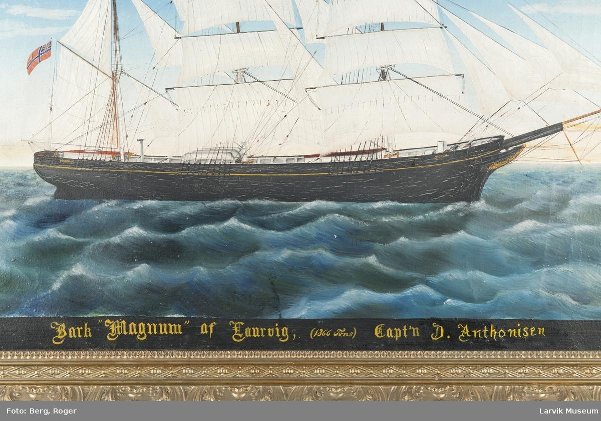 Barken Magnum av Larvik