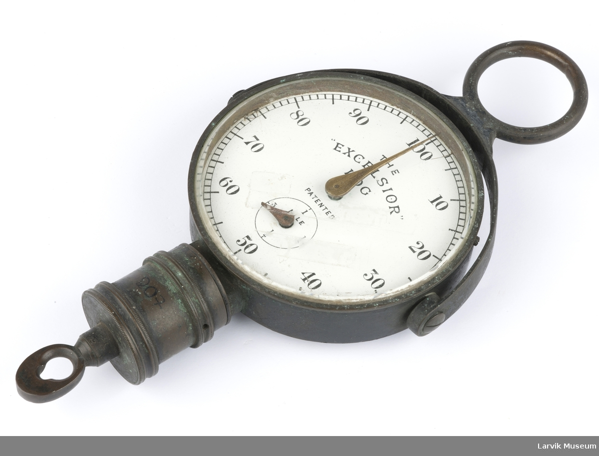Form som en klokke, tall fra 10 - 100