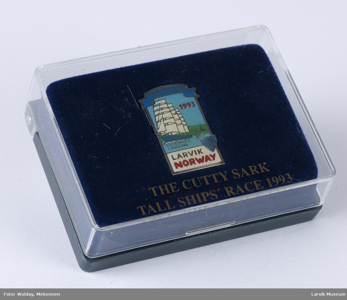 """Pin med Cutty Sark-motiv """"Lancing"""""""