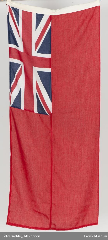Britisk handelsflagg m. Union Jack