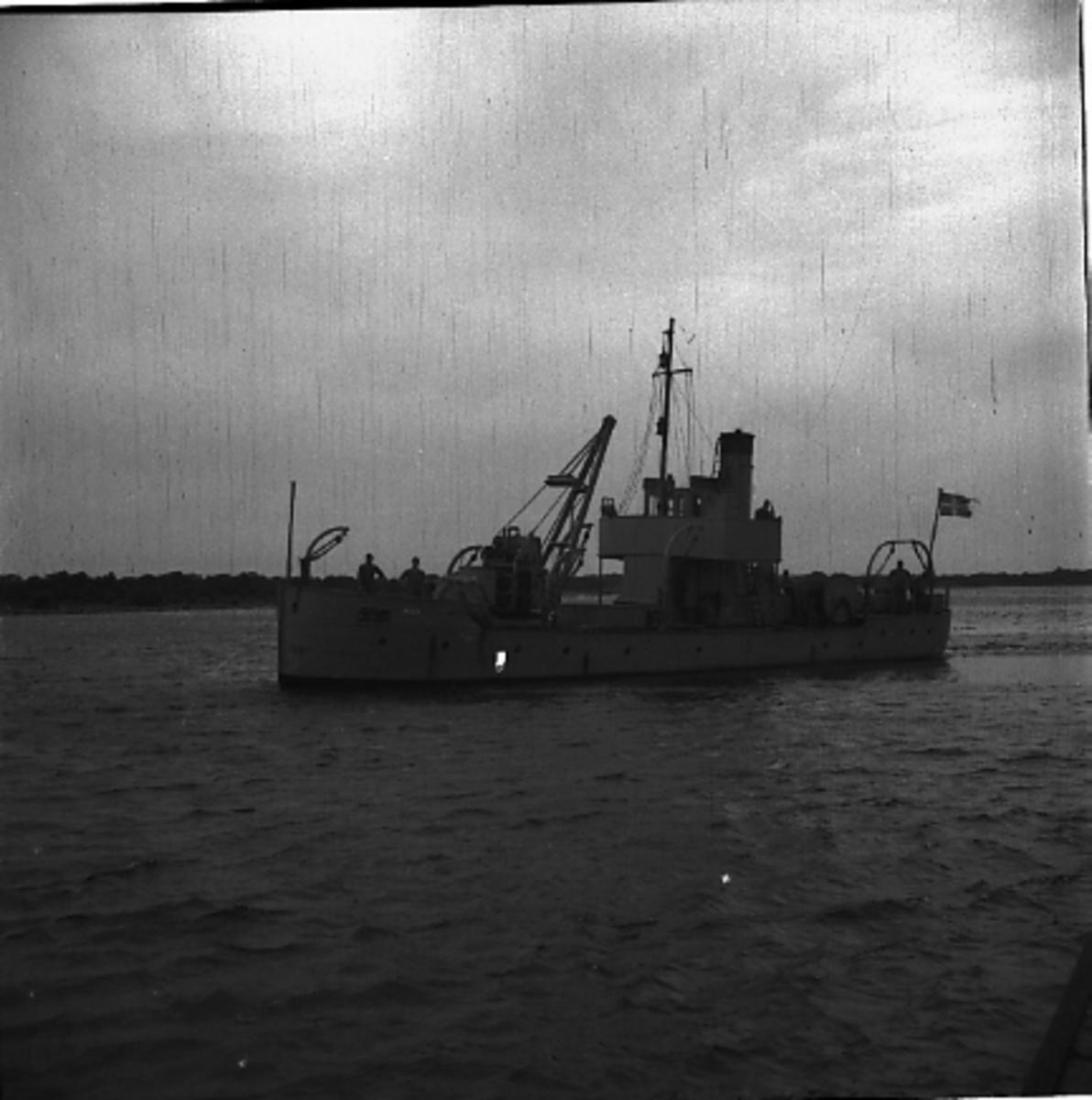 Fartyg: MUL 5                           Rederi: Kustartilleriet Övrigt: Mul 5 eller 6