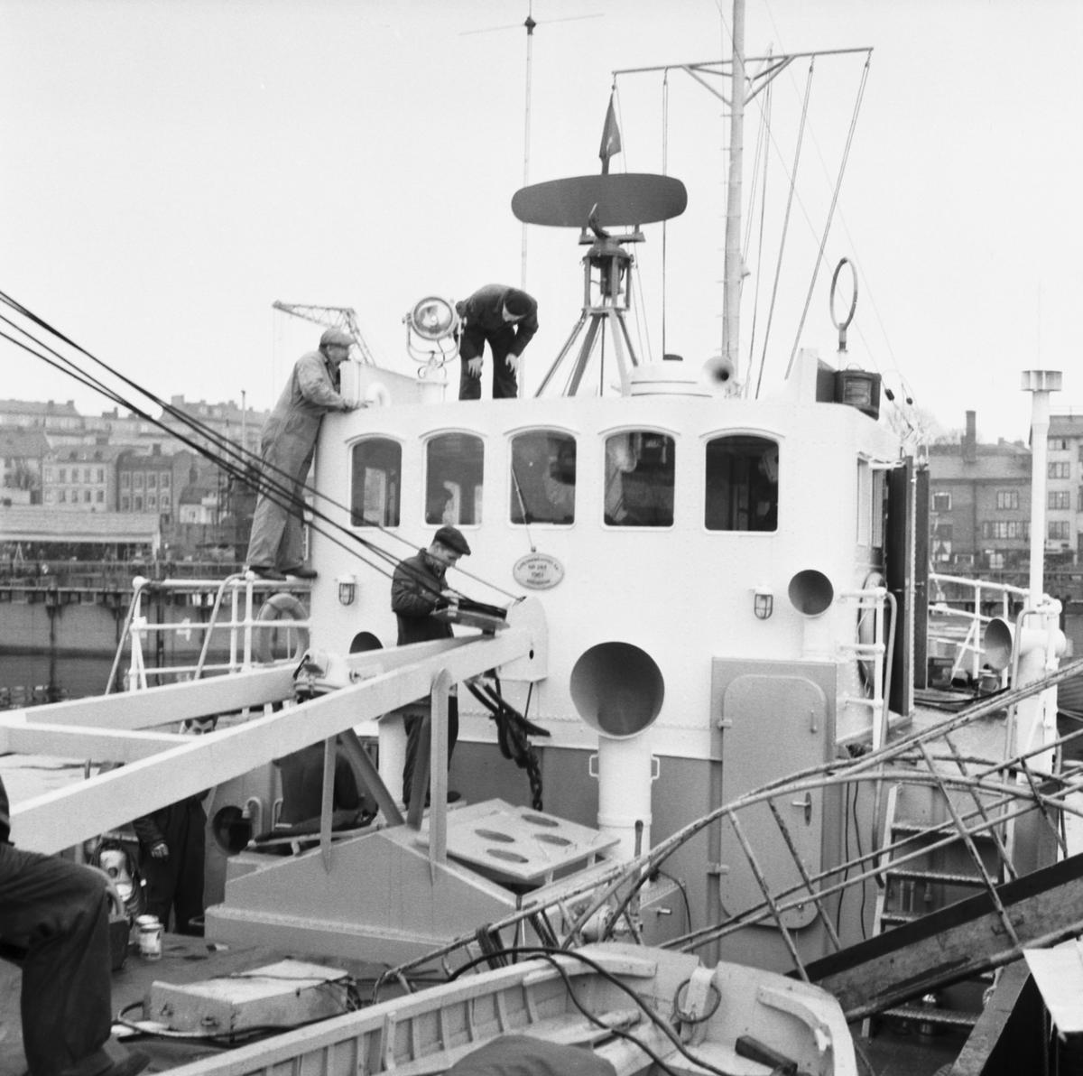 Fartyg: TÄNDAREN                        Övrigt: Gasningsjakt, Tändaren, detaljer för modellbygge