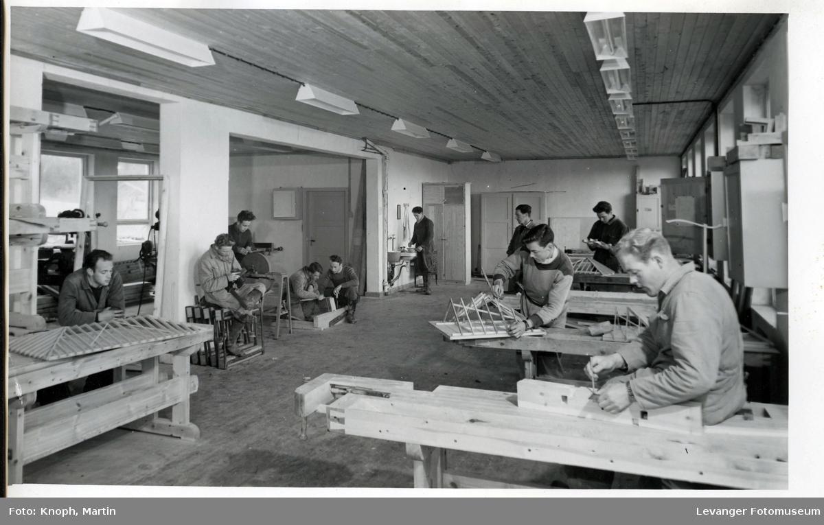 Tømrerlinja ved Inntrøndelag Yrkesskole