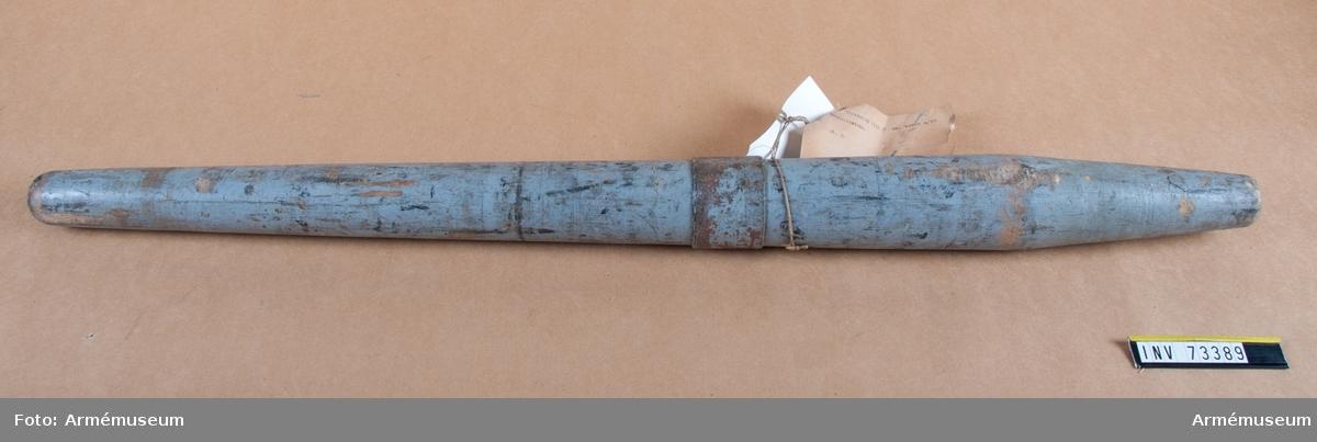 Grupp F.III. Handspik till 7 cm kanon m/1887.