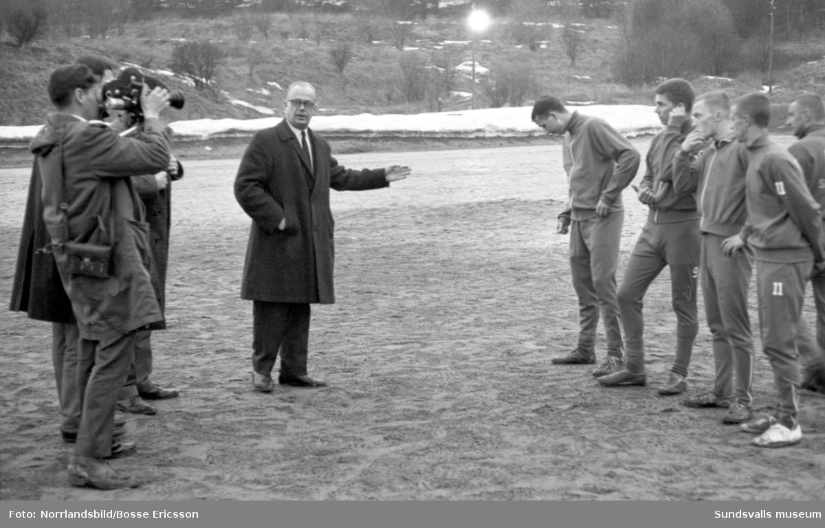 Giffarna tränar inför den allsvenska starten.Reportagebilder.
