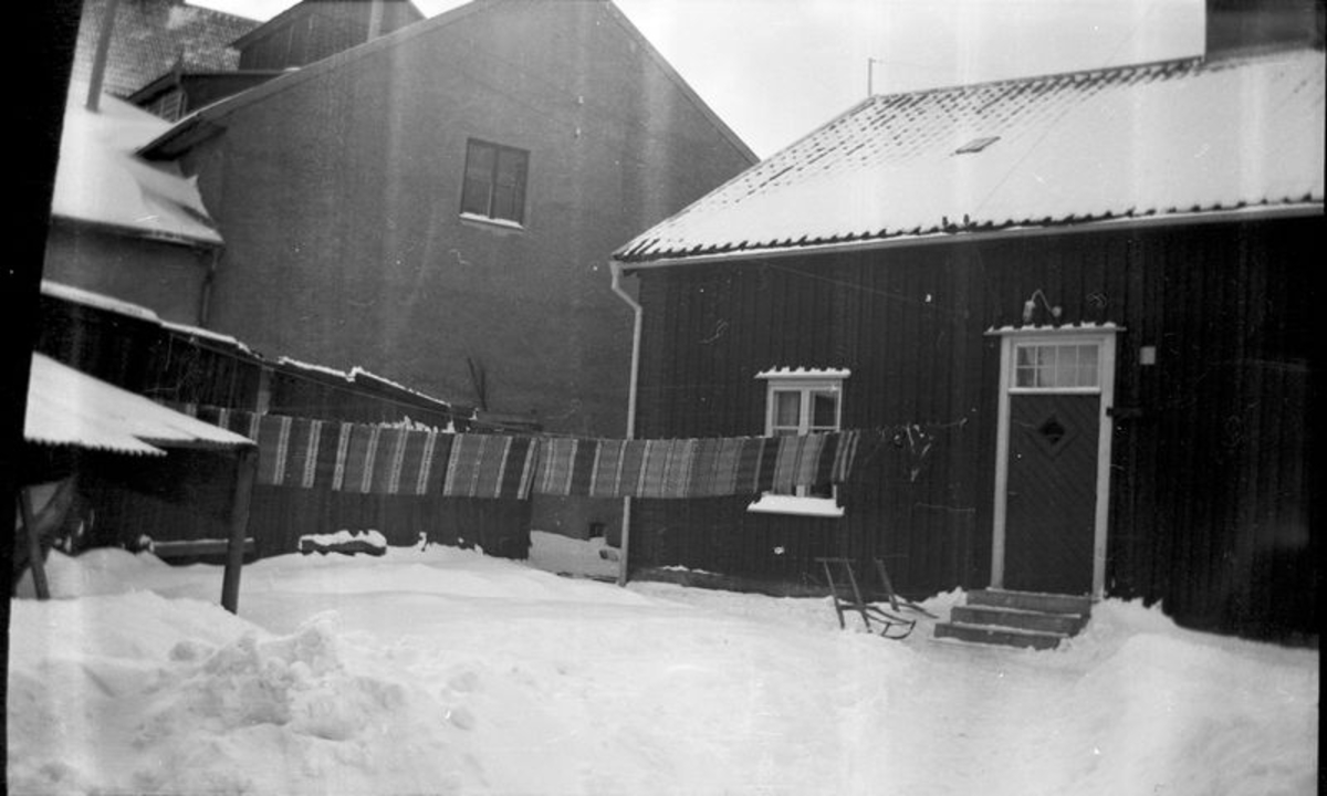 Vänersborg. Kokhusets baksida.