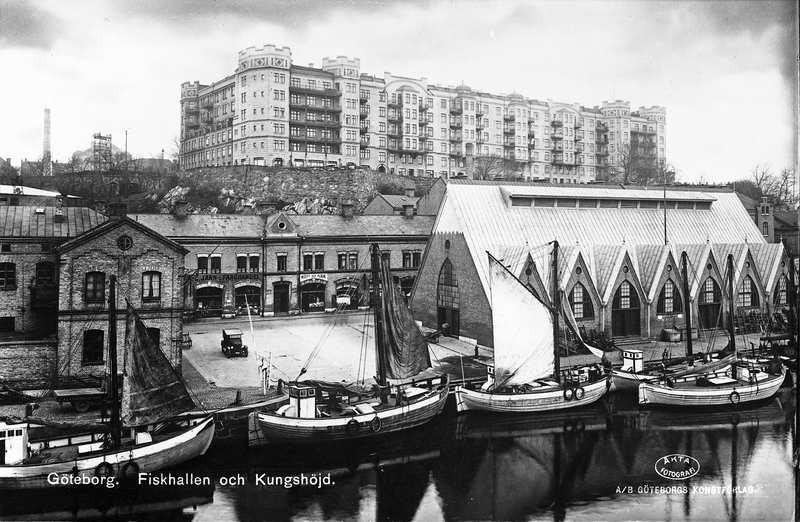 Fiskhallen och Kungshöjd.