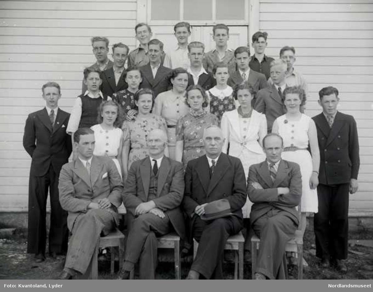 Kvantolands protokoll: Fauske middelskole Se SLH.F.000001-1956