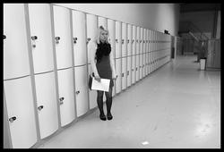 Dokumentation av ungdomsmode i Täby enskilda gymnasium höste