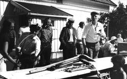 Auksjon på Viblemo, slutten av 1970-tallet.