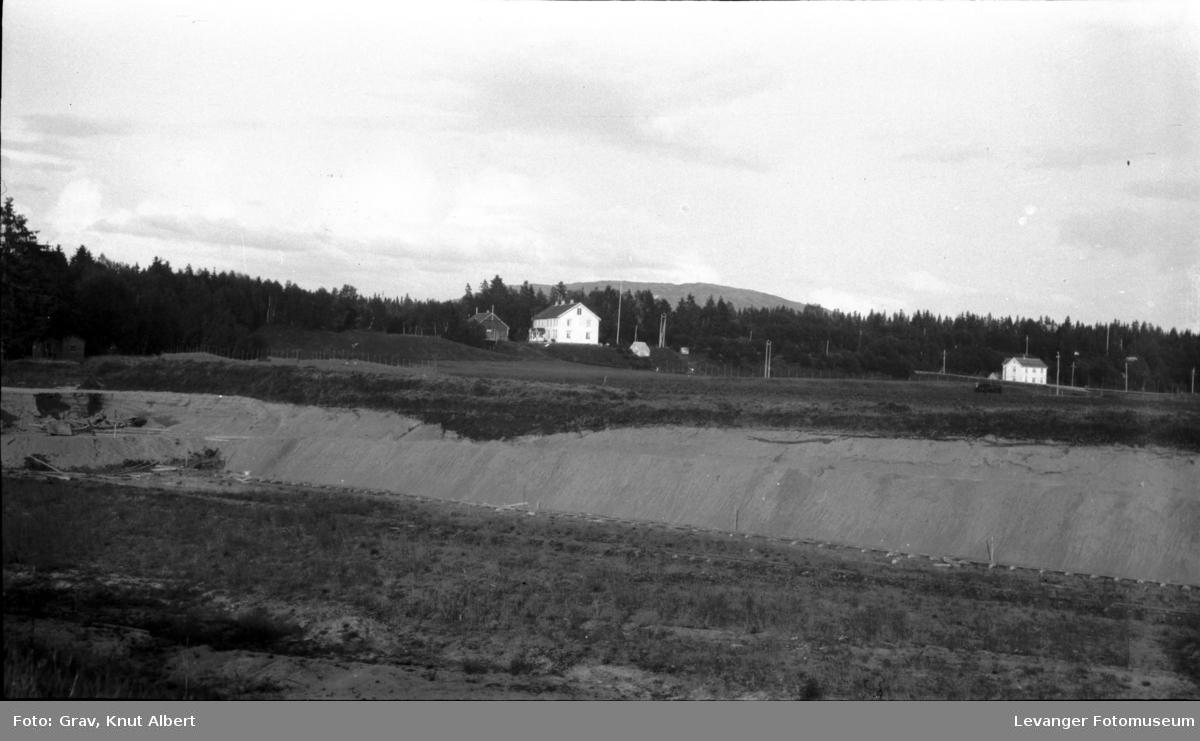 Landskap, bygning og anlegg (grusgruve?)