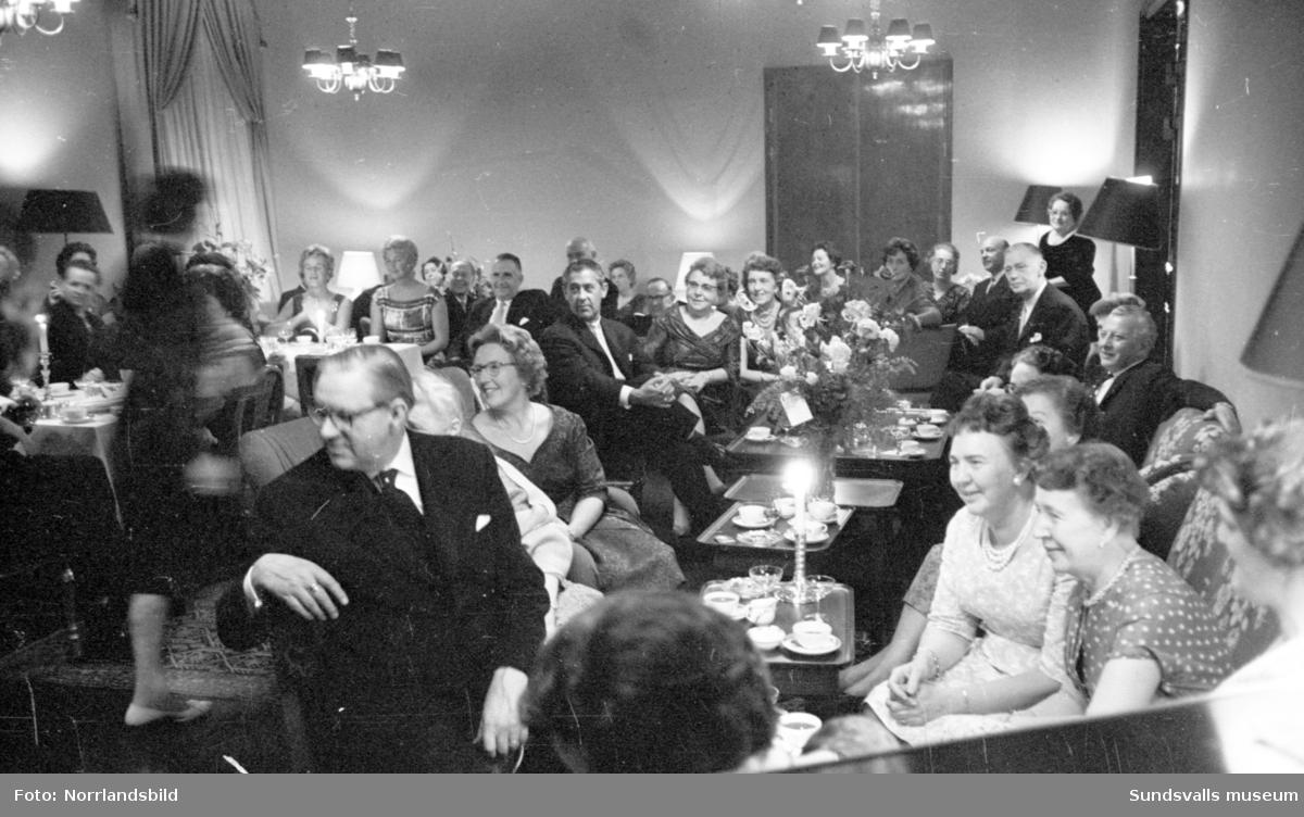 Béves 100-årsjubileumsfest på Stadshussalongen.
